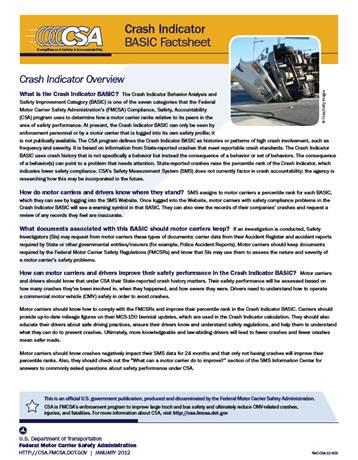 Lavell Crash-Indicator